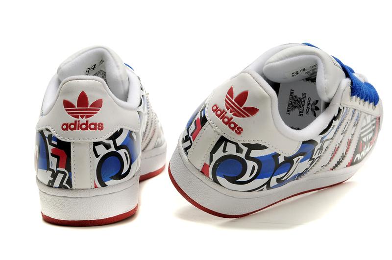 adidas superstar bleu garcon
